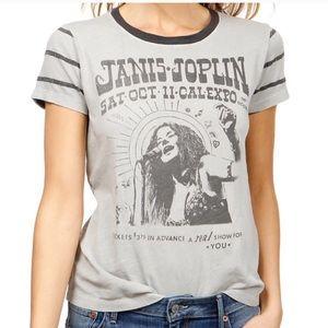 LUCKY BRAND x Janis Joplin Vintage Style Graphic T
